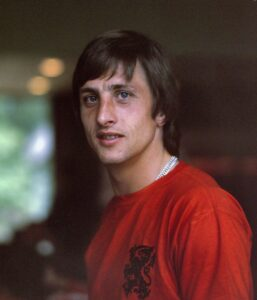 Child's Football Training Barnet - Dutch football icon Johan Cruyff